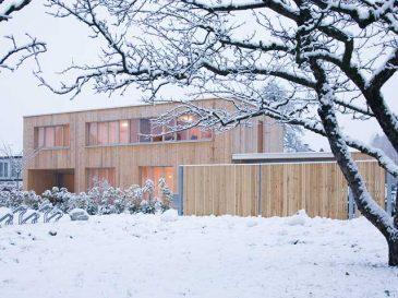 Infrarotheizung im Einfamilienhaus - Holzriegelbau Dornbirn